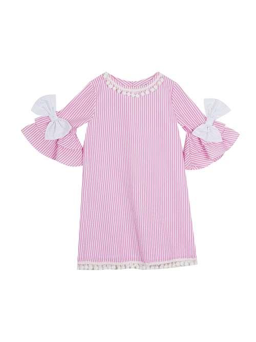 58500e67f274 Layne Taylor Seersucker Dress - Adrienne's Boutique